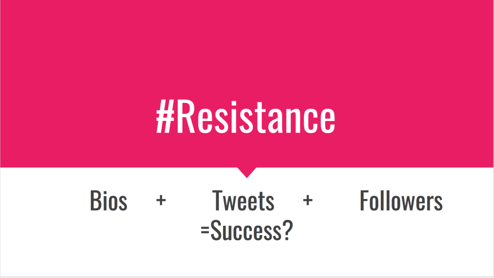 #Resistance: What Can Alt-Government Twitter TeachUs?